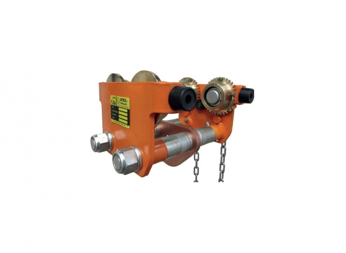 Image of ATEX Geared Trolley
