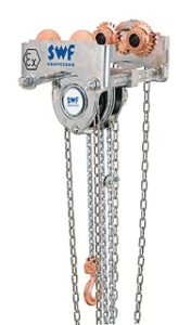 Image of CRAFTster hand chain block for loads up to 20,000 kg