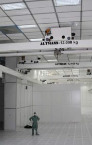 Image of Altman Cleanroom Hoists