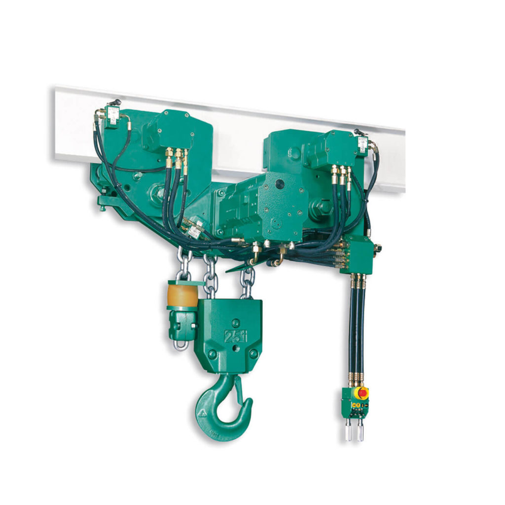 Image of JDN HYDRAULIC MONORAIL HOISTS
