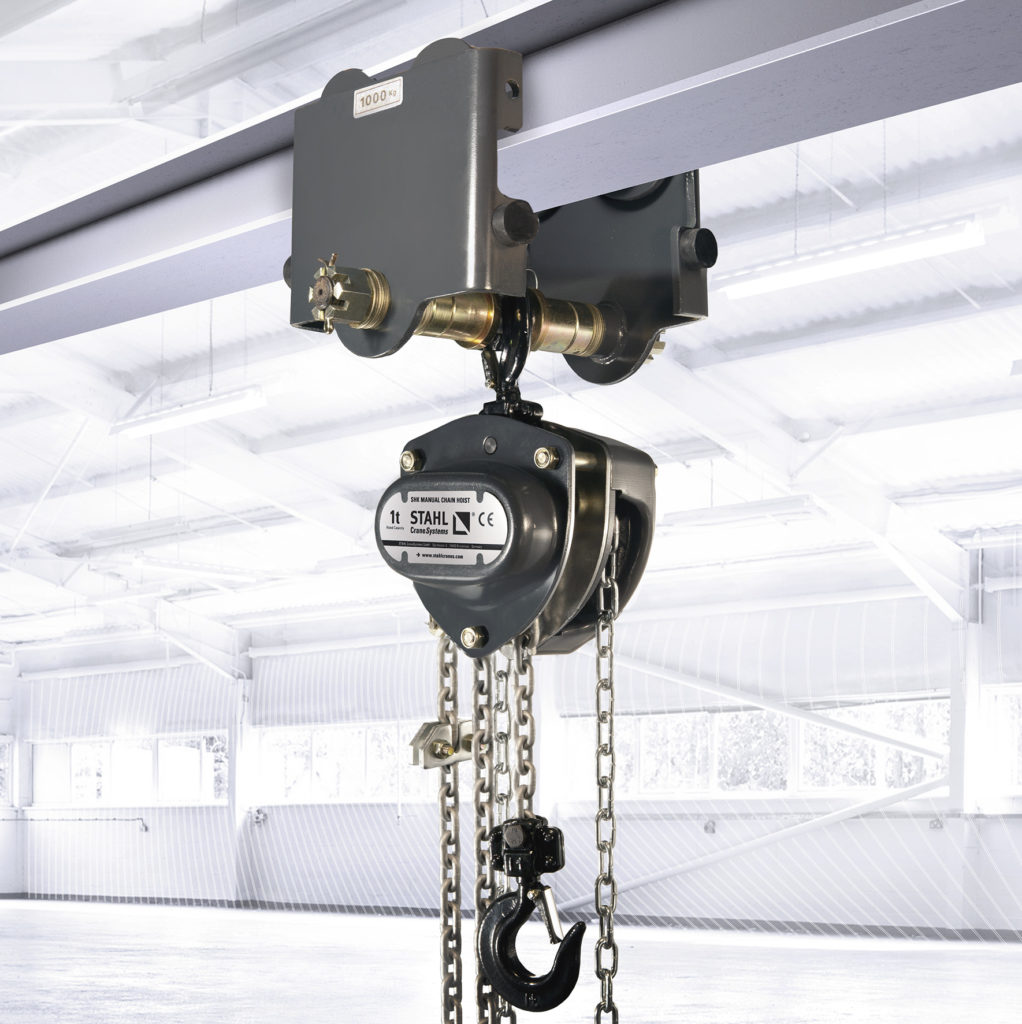 Image of The SHK and SHK+ manual chain hoist