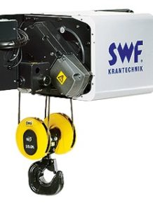 Image of NOVA F fixed hoist for freestanding installations, up to 80 t