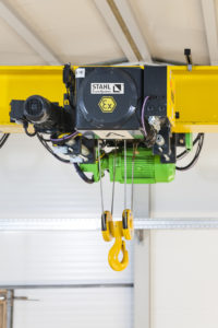 Image of STAHL Explosion-protected wire rope hoists
