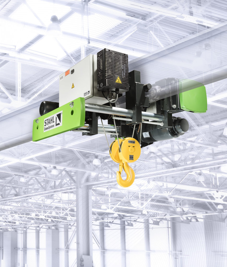 Image of STAHL SHA wire rope hoist