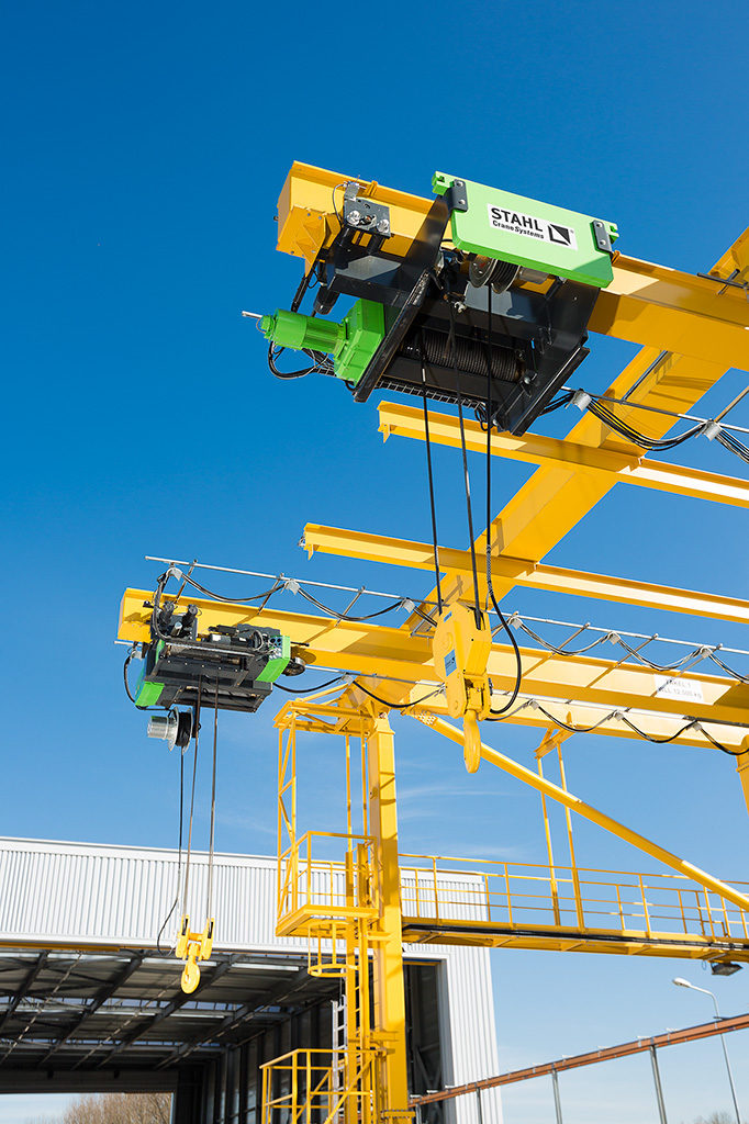 Image of STAHL AS 7 wire rope hoist